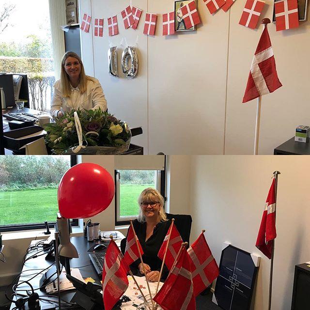 Endnu en festdag🎉… 2 x 10 års jubilæum! Stort TILLYKKE til Berit Høyer Nissen og Gitte Føhrby 🇩🇰🇩🇰🇩🇰🇩🇰🇩🇰🇩🇰🇩🇰🇩🇰🇩🇰🇩🇰😊😊 #liveterforkorttil korte relationer #c2it
