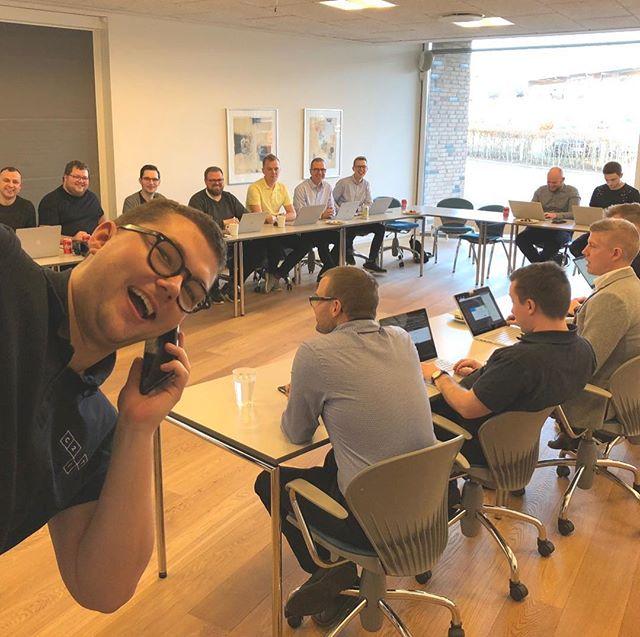 Team Drift, Support og Outsourcing skyder 2019 godt i gang med kick-off for hele banden – og Lasse er max klar til at tage sig af kunderne på supporten! #c2it #itoutsourcing #itdrift #itsupport