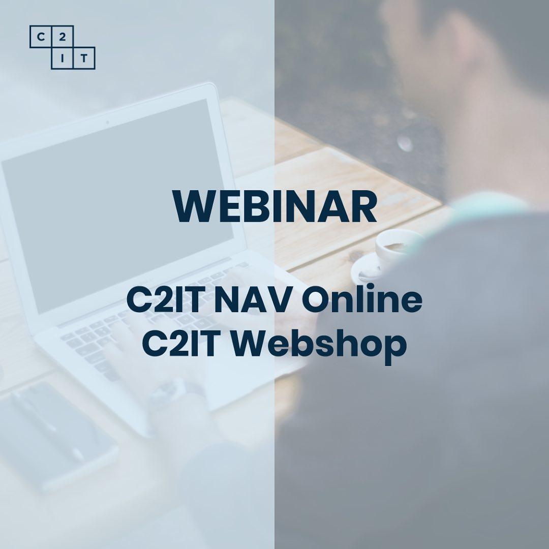 Brug en time foran skærmen 27. maj kl. 10 og bliv præsenteret for: ✅ C2IT NAV Online Glem bekymringerne om fremtidige opgraderinger og forhold dig til en fast pris pr. måned. ✅ C2IT Webshop B2B Webshop – fuldt integreret til NAV/Business Central. Simpel opsætning og lav fast pris pr. måned, inkl. hosting. Tilmelding til webinaret via C2IT.dk under Arrangementer#microsoftdynamicsnav #365businesscentral #microsoftdynamics #dynamics365 #nav #c2it