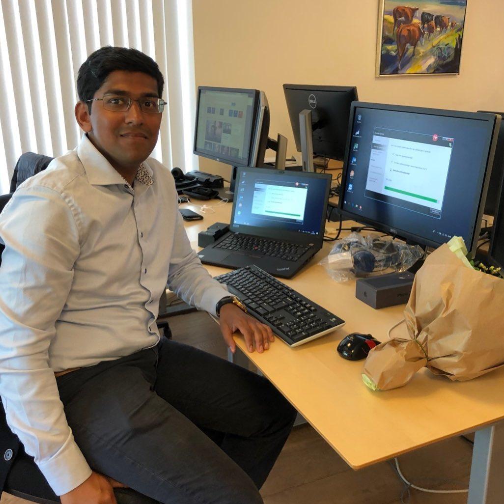 VELKOMMEN til Jeremi Kiruparajan, der er startet som konsulent i vores Microsoft Dynamics NAV/Business Central forretning. Jeremi har stor indsigt i forretningsprocesser, integrationer og implementering af IT, så han er klar til at gøre IT simpelt hos vores kunder🙂 #nav #dynamics #businesscentral #microsoftdynamicsnav #erp #c2it #welcome