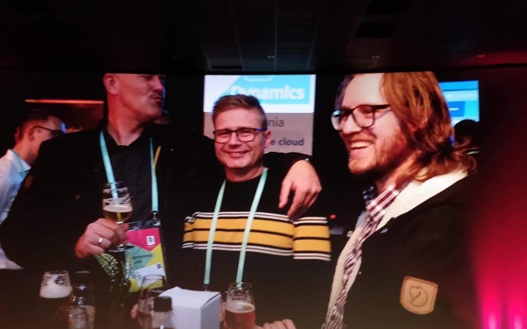 Vores nørder er tilbage fra TechDays i Antwerpen med masser af ny viden om Microsoft Dynamics 365 Business Central. De sluttede konferencen af med stil på storskærm 😃 #LivetErForKortTil kedelige arbejdspladser #navtechdays #c2it #businesscentral
