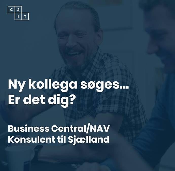 Er du konsulent på Business Central/Dynamics NAV? Så har vi jobbet til dig….🙂 Du får muligheden for at blive en del af et fantastisk team, der med flere lokationer dækker hele landet. Vi har både mindre og store opgaver hos spændende kunder af alle størrelser.  Læs mere om jobbet på C2IT.DK.  #LivetErForKortTil kedelige arbejdspladser! #businesscentral #c2it #jobdk