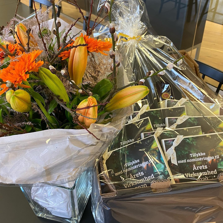 #LivetErForKortTil sure miner… så derfor vil vi gerne sige tak for kampen og stort tillykke til @pierre.ejendomme med prisen som Årets virksomhed 2020. Tak til @businesskolding for nomineringen samt blomster, vin og chokolade. #Award21 #ÅretsVirksomhed2020 #Kolding #ForeningenBusinessKolding #BusinessKolding #c2it