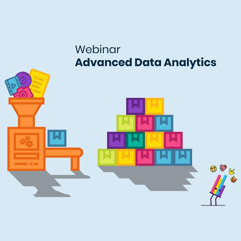 Advanced Data Analytics er overskriften på vores næste webinar🤓 Bliv inspireret gennem konkrete cases og hør, hvordan virksomheder opsamler og bruger forskellige slags data til at skabe forretningsmæssig værdi. Tilmelding via link i bio. Data er er ikke kun tal men også tekst, lyd og billeder. Advanced Data Analytics kan spænde fra alt fra simple regler til Avanceret Machine Learnings modeller. Eksempelvis bruges Advanced Analytics til at forudsige købsadfærd, kundeafgang, hjemmesideoptimering, chatbots etc. Er du blevet nysgerrig og vil gerne have en introduktion til Advanced Data Analytics? Så deltag på vores webinar den 27. oktober kl. 14:00-14:45. #digitalisering #data #analytics